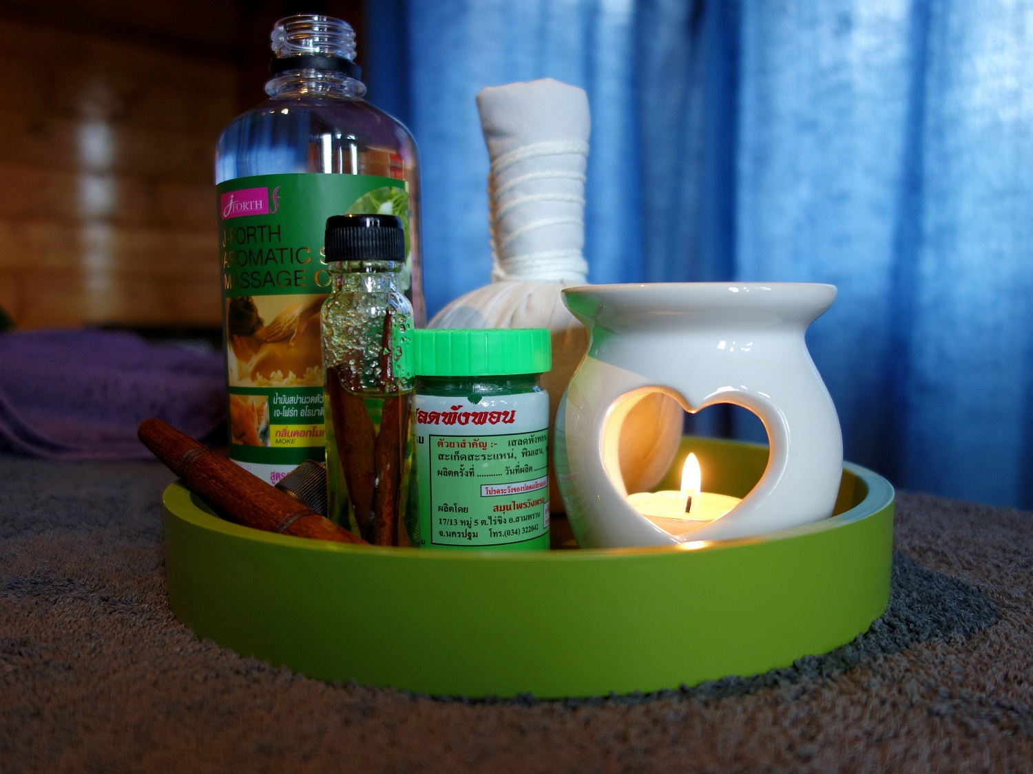 picture of Thai massage products